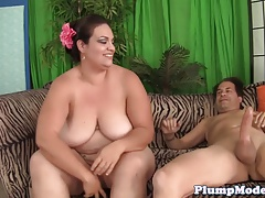 SSBBW sweetie pounded on the