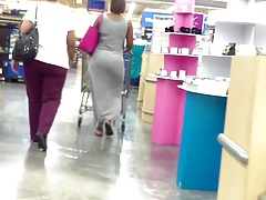 Gray Sundress VPL Gigantic..