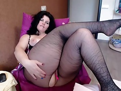 Hot Lush Brown-haired On Web..