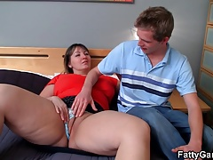 Doggy-banging for big-titted..
