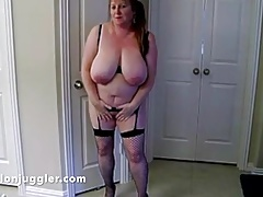 Mature housewife with phat..
