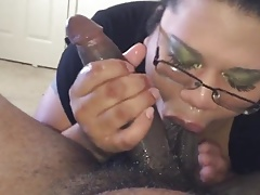 Enormous Damsel With Glasses..