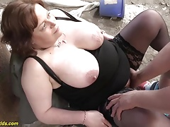 german plumper  outdoor plowed