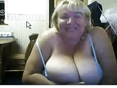 hefty breasted web cam