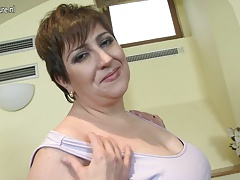 Horny mature Plumper mom..