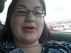 at the car
